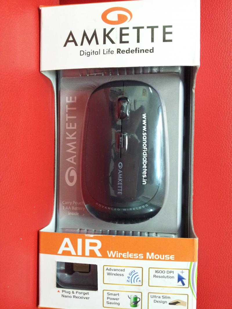 AMKETTE CORDLESS MOUSE FOR CONFERENCE